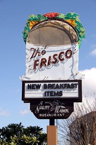 the frisco shop neon sign