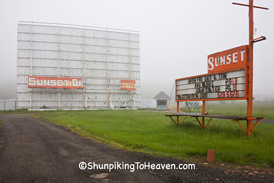 Sunset Drive-In Theatre, Richland County, Ohio