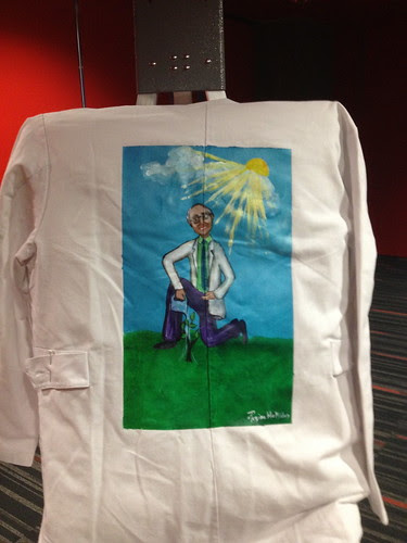 """""""Growing This"""" a jacket for Kenneth Dobuler"""