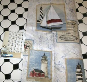 Nautical Shower Curtains Lighthouse ~ Interior Design Styles