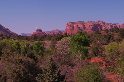 Scenic Sedona's Red Rocks