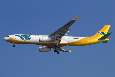 Cebu Pacific Air (Cebu Pacific Air.com) Airbus A330-343X RP-C3341 (msn 1420) SIN (Kok Chwee K. C. Sim). Image: 913138.