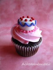 Tuesday Toppers: Cake Cupcake