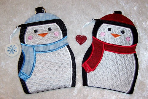 Penguin Zipper Cases