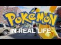 Pokemon Go In Real Life In New York City - Video