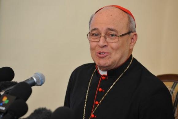 Cardenal Jaime Ortega y Alamino. Foto de Archivo.