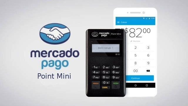 Mercado Point Mini Pago Limaluz CalçadosMaquininha by76Ygvf