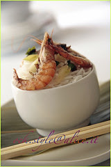 Asian Amuse Bouche [Shrimps and Steamed Rice]