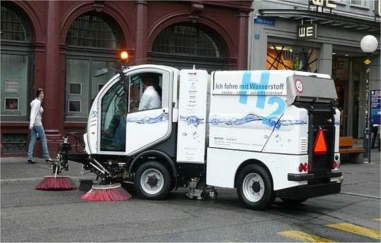 Utilitário a hidrogênio passa no teste das ruas