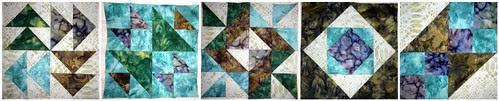 Fabric Fascination BOM - Blocks 1 thru 5