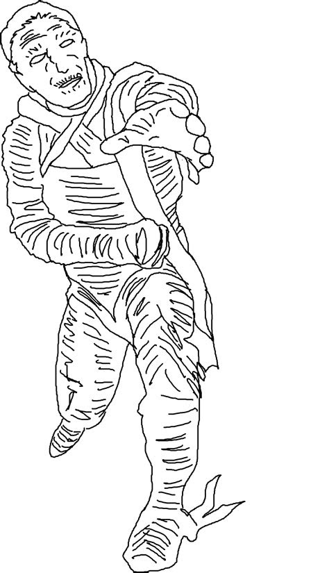 printable mummy coloring pages  kids