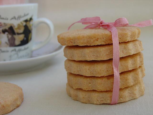 Sablés au Biscuit Rose