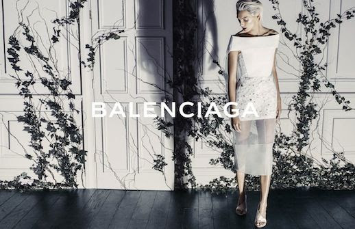 LE FASHION BLOG BALENCIAGA SS 2014 AD CAMPAIGN MODEL DARIA WERBOWY BY STEVEN KLEIN SPRING SUMMER COLLECTION SHORT BLEACH BLOND HAIR PIXIE CUT SLICKED BACK SHARON STONE WHITE SHEER PANEL DRESS WHITE HEELED SANDALS 2 photo LEFASHIONBLOGBALENCIAGASS2014ADCAMPAIGNDARIAWERBOWYBYSTEVENKLEIN2.jpg