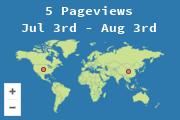 Lugares desde los que se ha visitado esta página