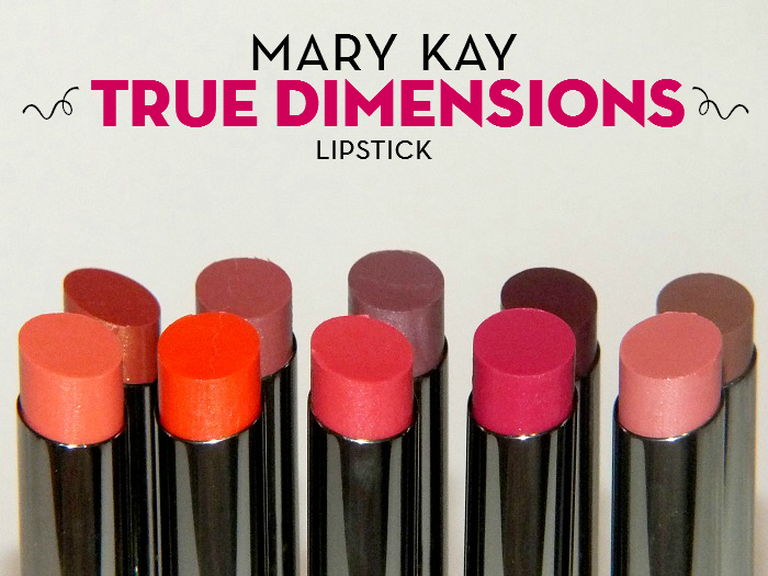 Mary Kay True Dimensions Lipstick I Know All The Words