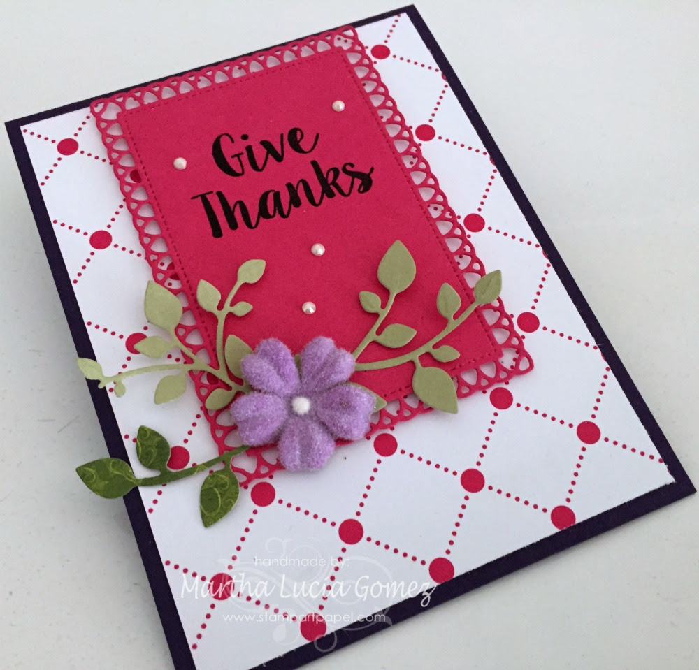 GIVE THANKS INSPIRATION CARD