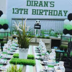 13 Year Old?s Football Theme Birthday Party ? VenueMonk Blog