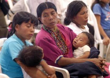 Las indígenas de Mesoamérica no deciden sobre su parto