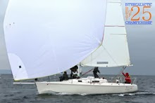 J/105 sailboat- sailing Seattle NOOD regatta