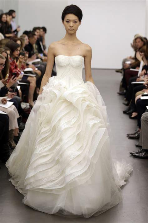 Vera Wang Wedding Dresses Fall 2013 Collection