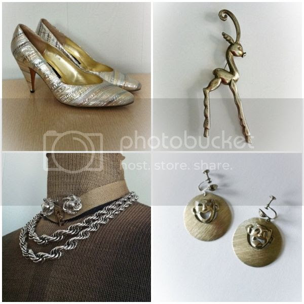 vintage silver comedy tragedy earrings jewelry shoes