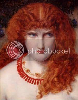 Helen of Troy - Anthony Frederick Sandys c.1867