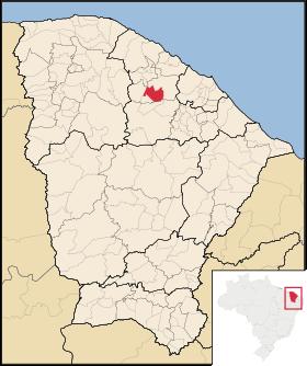 Localização de Apuiarés