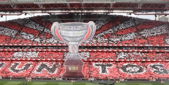 Les supporters de Benfica ont fait les choses en grand. (D.R)