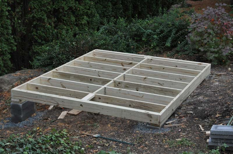 Tifany Blog Info How To Build A Shed Foundation With Pavers