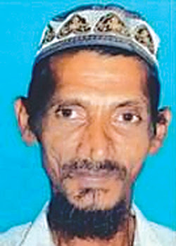 Vegetable vendor goes missing
