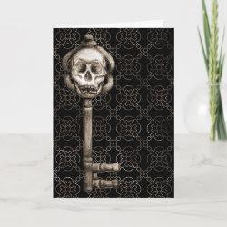 Skeleton Key Card card