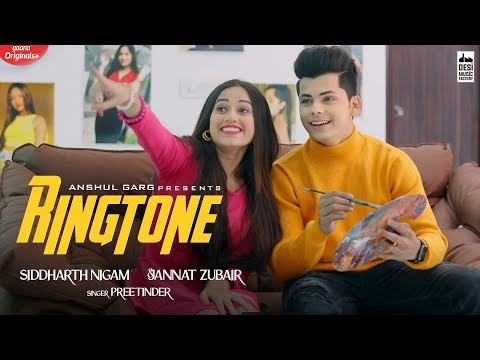 RINGTONE LYRICS - हिंदी English | Jannat Zubair ft. Siddhart Nigam