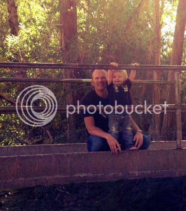 Dad & J bridge