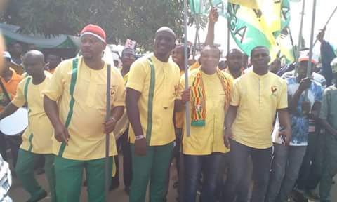 Massive APGA Campaign Rally In Benin- Pictures