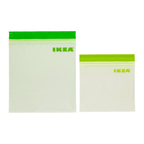 ISTAD Plastic bag IKEA Can be used over and over again since it can be re-sealed.