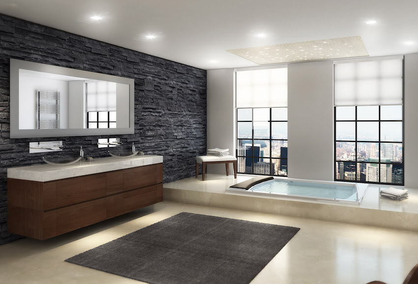 Luxury Modern Master Bathrooms Modernfurniture Collection