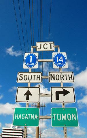 Guam signs