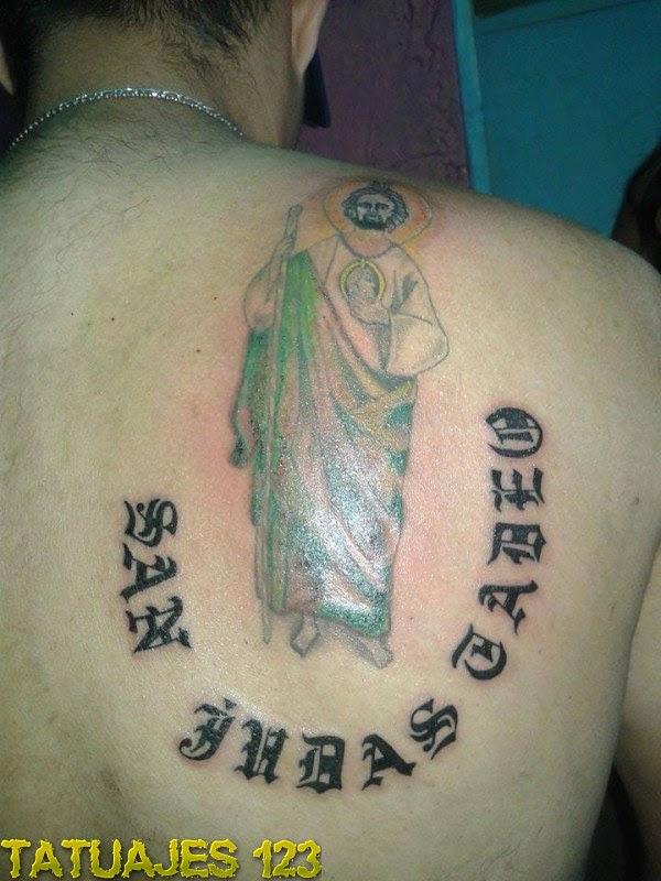 San Judas Tadeo Tatuajes 123
