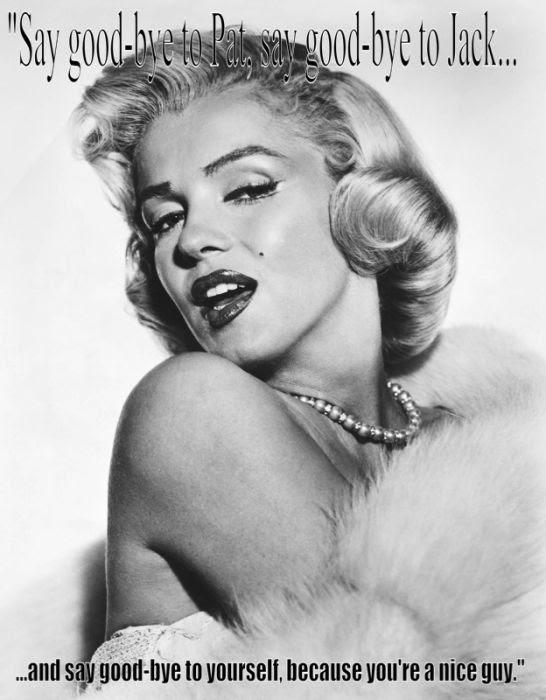 Last words by Marilyn Monroe