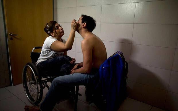 Η ανάπηρη χορεύτρια που ξεσήκωσε το Παγκόσμιο Πρωτάθλημα Τανγκό στο Μπουένος Άιρες