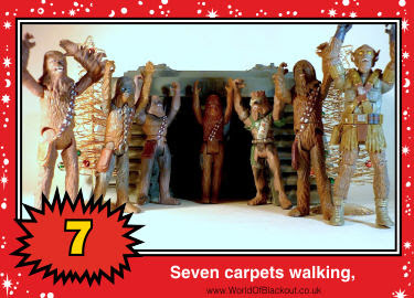 Seven carpets walking,