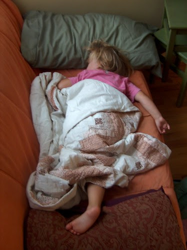 sleeping 3-year-old