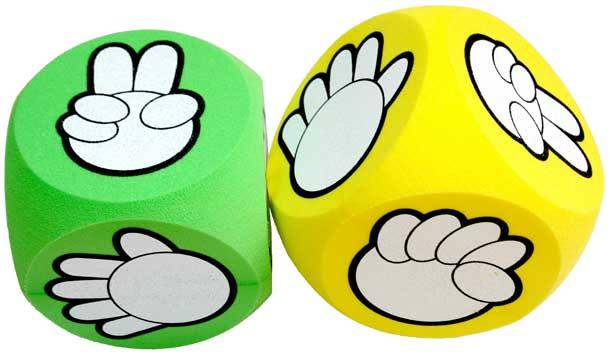 剪刀 石頭 布 猜拳 遊戲骰子
