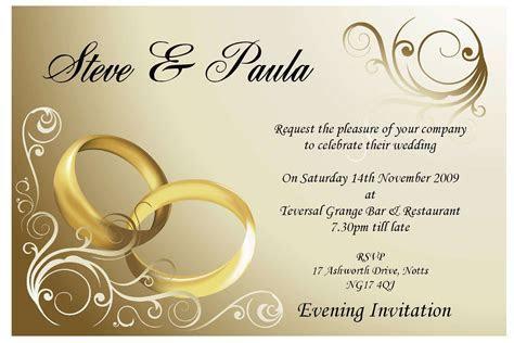 Affordable Wedding Invitation Card   Invitation Templates
