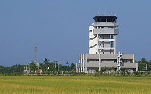 The Kalibo International Airport Control Tower...