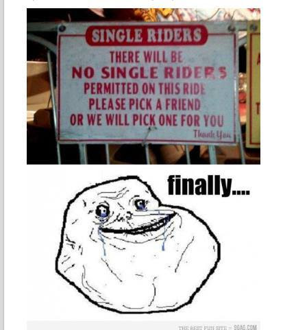 Finally Chance For The Forever Alone Guy Funny Pictures Quotes