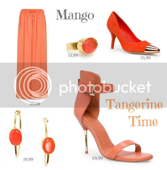 Tangerine Prendas Mango