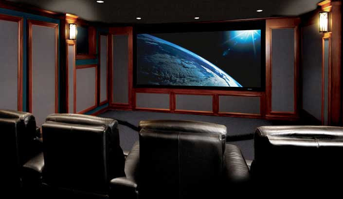 Home Theater Installation-Chicago | Home Theater Design - North ...