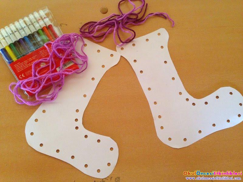 çorap Fabrikası Okul öncesi Etkinlikleri Hayallerinizi