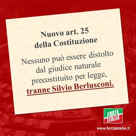Nuovo art. 25 della Costituzione